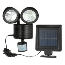 Smartbrave Dual Security Detector Solar Spot Light Motion Sensor Outdoor 22 LED Floodlight