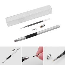 classroom-essentials-3 in 1 Precision Stylus Pen with Refill and Disc Tip and Fiber Tip Capacitive Touchscreen Stylus Pen Set For Cellphone Tablet  Sil on JD