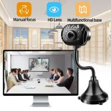 webcams-MIARHB USB HD Webcam Camera Web Cam With Microphone For PC Laptop Desktop Computer US on JD