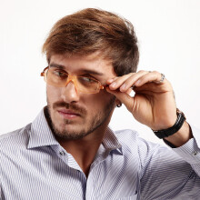 Nanini Imported Anti-Blu-ray Computer Glasses C2A Office Games Internet Flat Mirror for Men and Wome