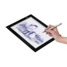 whiteboards-Portable A5 Light Box Tracer USB Powered Ultra-thin LED Artcraft Light Pad Copy Board with Scale 3 Level Adjustable Brightness for on JD