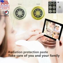 mobile-phone-parts-6Pcs Mobile Phone Anti Radiation EMF Protection Sticker Phone Laptop Stickers US on JD