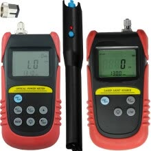 networking-tools-Handheld Min Fiber Optical Power Meter(-70dB to +6dB) + 850nm,1300nm Wavelength Optical Laser Source + 15mw Visual Fault Locator on JD