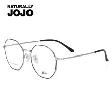 NATURALLY JOJO Anti-Blu-ray Glasses Flat Frames Non-degree Polygon Mobile Computer E-sports Learning