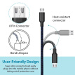 Micro USB Cable, Super Durable Charging and Data Sync Cord for Android/Windows/MP3/Camera and other Device