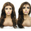 N.L.W. European virgin human hair Full lace wigs #4/27 Highlight color Natural wave Glueless wigs