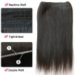 N.L.W. 10A Brazilian virgin human hair 3 bundles Silk straight hair extensions