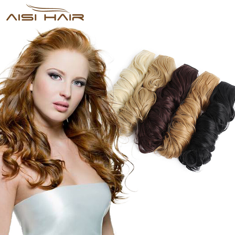 Is A Wig 24 14 Colors Long Wavy High Temperature Fiber Synthetic