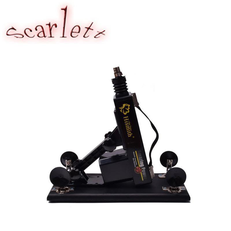 Ym Automatic Sex Machine Gun Cannon With Big Sex Robot Dildo Realistic Penis 6 Cm