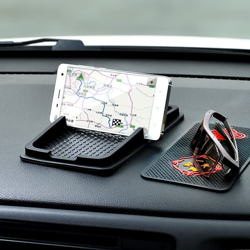 CarSetCity  Car Phone Holder with Non-slip Mat, Black