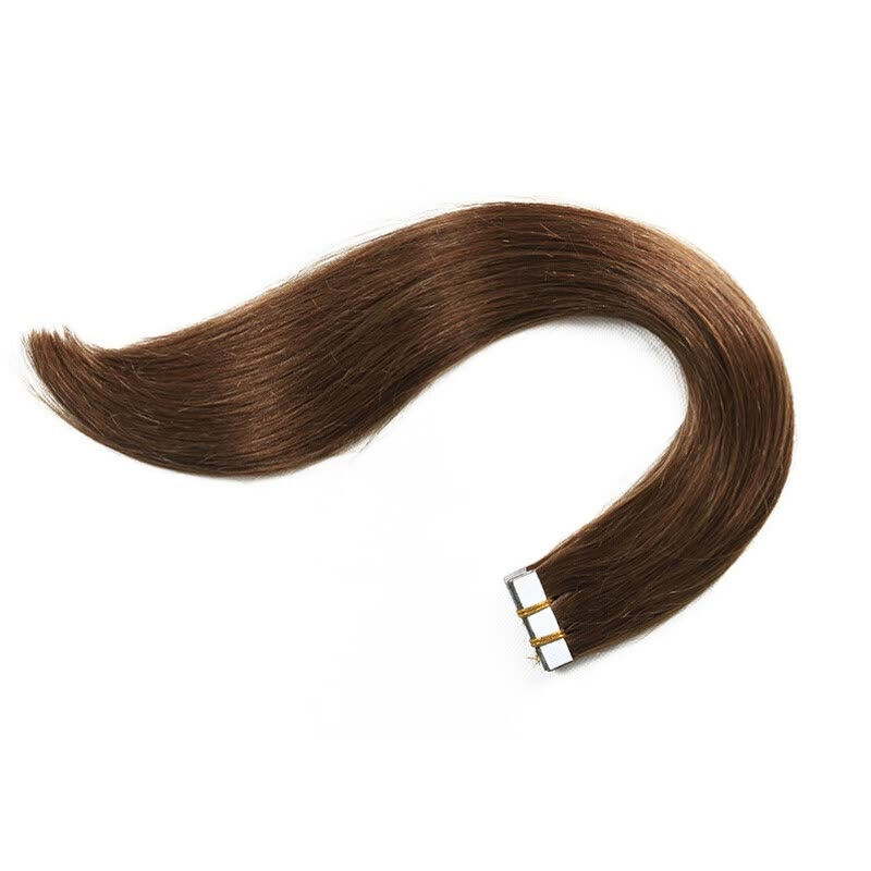 16 26full Head 20pcs 100 Remy Pu Tape In Human Hair Extensions