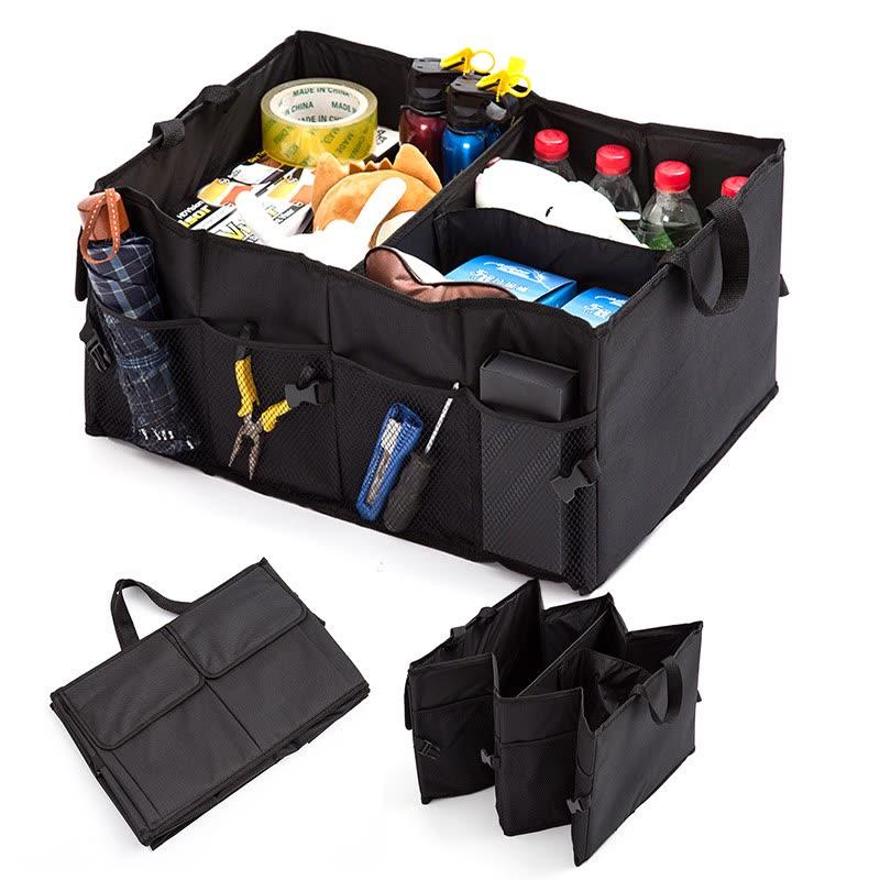 Коробка для хранения автомобилей Водонепроницаемый складной контейнерный контейнер Многофункциональный автомат для укладки багажника для автозапчастей Внутренний склад для хранения контейнеров