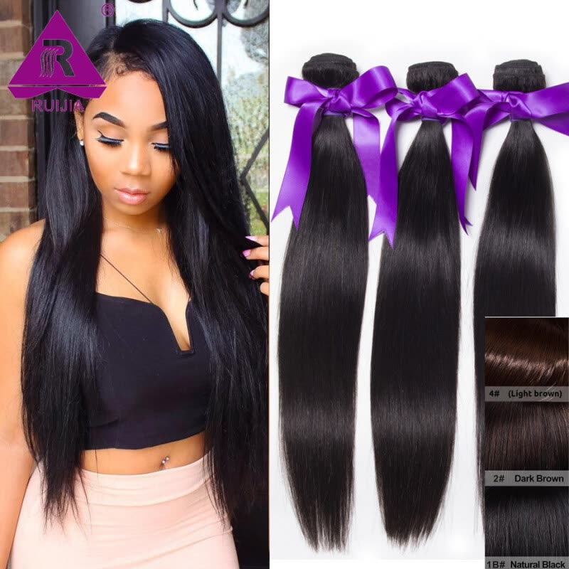 Shop Peruvian Remy Virgin Hair Weave Straight 100 Human Hair