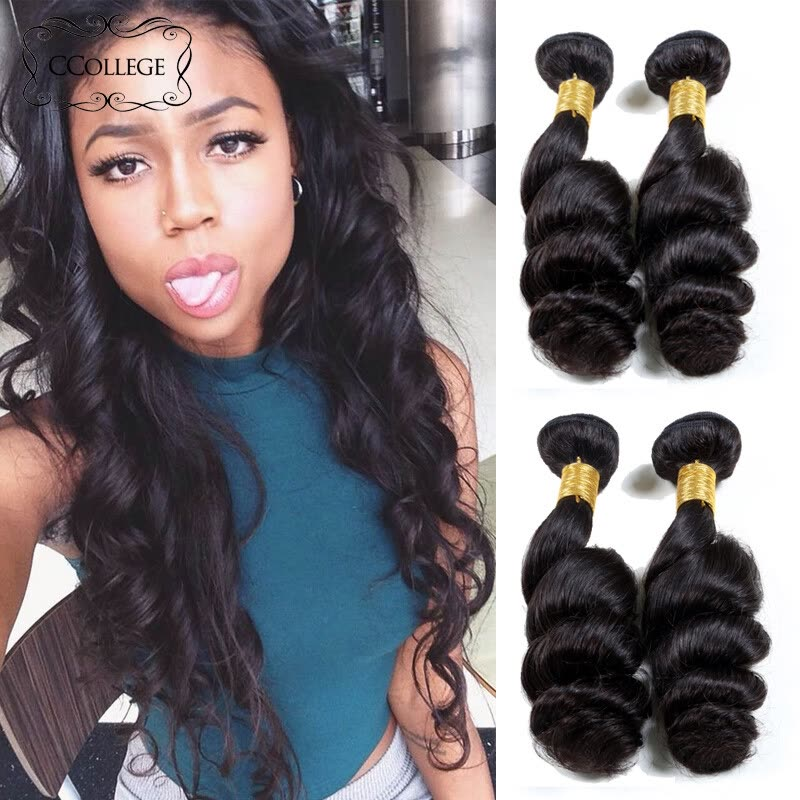 Ccollege Hair Company Indian Loose Wave Hair 4pcs Lot Cheap Indian