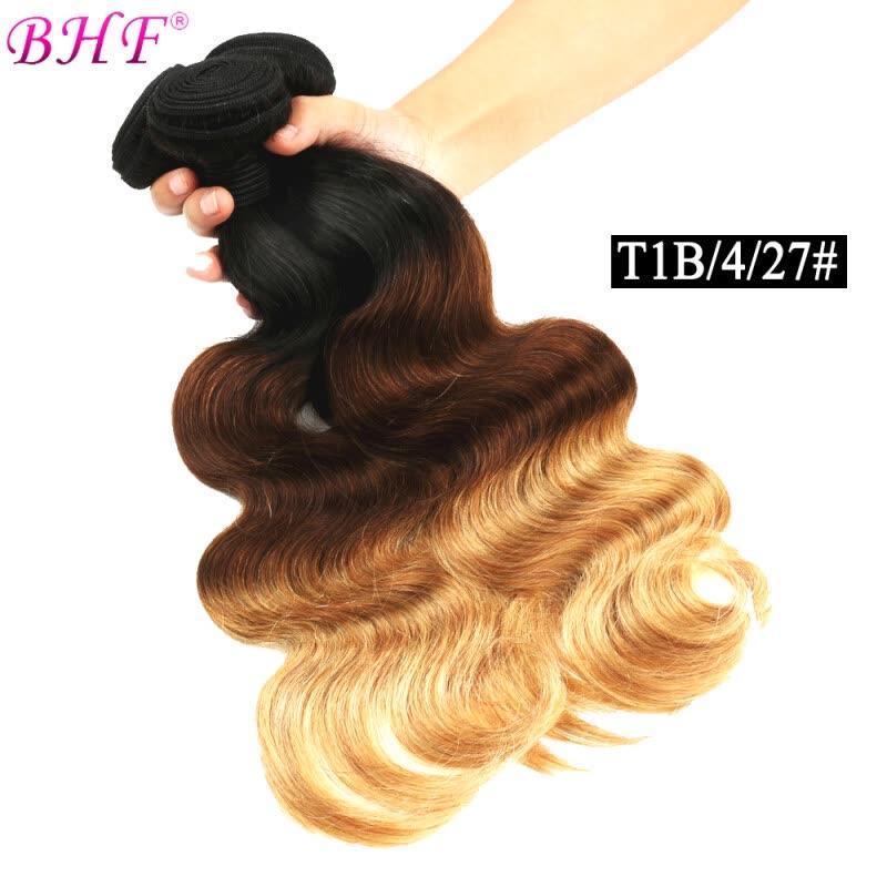 Shop Brazilian Body Wave Brazilian Hair Bundles T1b427 Ombre Hair