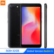 "In Stock Global Version Xiaomi Redmi 6 3GB 32GB Mobile Phone MTK Helio P22 Octa Core 5.45"" 18:9 Full Screen 12MP+5MP Dual Camera"
