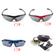 Unisex Polarized Cycling Sunglasses Outdoor Sports Bicycle UV400 Goggle Glasses 5 Lens