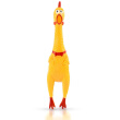 42CM Screaming Chicken Squeeze Sound Toy Pets Shrilling Decompression Tool Funny Gadgets