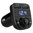 HYUNDAI car MP3 player HY-82 Bluetooth handsfree call FM launch dual USB3.1A fast charge TF card / U disk play black