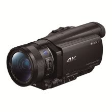 video-cameras-Sony FDR-AX100E 4K HD digital camera 1 inch CMOS optical image stabilization 12x optical zoom Zeiss lens support WIFI / NFC transmission on JD