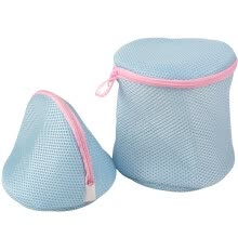 -[Jingdong supermarket] green reed laundry bag bra cleaning bag thickened drum + hemisphere 2 sets of pink on JD