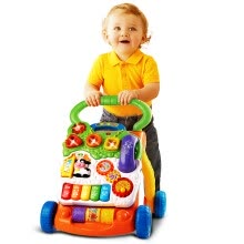 -Vtech VTech Multifunctional Walker Trolley Speed Control Baby Walker Baby Stroller Removable Learning Panel Toy on JD