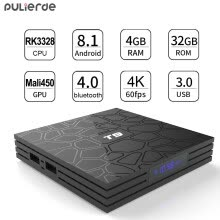 -T9 Android BOX 8.1 TV Box 4G + 32G WIFI -RockChip3328 A53 4K супер устройство on JD