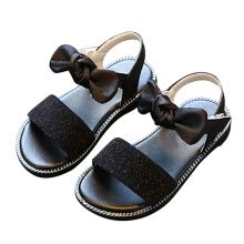 wipers-washers-Baby Spring Summer Leopard Print Bow Princess Girls Anti Slip Soft Sole Beach Casual Sandals Shoes on JD