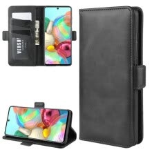 -For Samsung Galaxy A81 M60s Wallet Case for Samsung Galaxy Note 10 Note10 Lite Double Flip Leather Cover Phone Case Capa Fundas> on JD