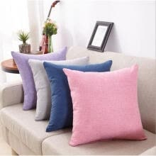 marketing-New Home Decor Cotton Throw Pillow Case Romantic Sofa Cushion Cover Soft Simple on JD