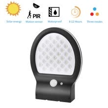 -38 LED Solar Power Wall Light Motion Sensor Garden Park Yard Path Outdoor Lamp on JD