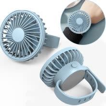 more-Mini Portable Watch Fan Air Cooler Child Hand Held Outdoor Cooler Cooling Mini Fans USB Power on JD
