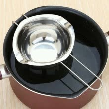 -Stainless Steel Chocolate Melting Pot Double Boiler Milk Bowl Butter Candy Warmer Pastry Tools on JD