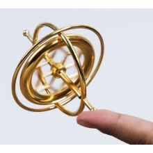 finger-toys-YAH Precision Gyroscope Metal Anti-gravity Spinner Balance Toy Educational Gift physics education kids training on JD