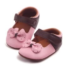 -Newborn Baby Childlren Girls Bowknot Dot Fashion Anti-slip Soft Shoes Sneaker on JD