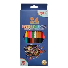 -Double-headed 24-color pencil 12 English color lead 12 painting garden on JD
