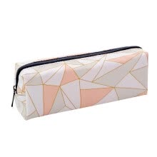 -Simple Pencil Pen Case Cosmetic Makeup Bag Storage Pouch Purse Students School on JD