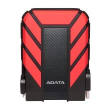 -ADATA HD710 Pro External Hard Drive Portable HDD 4TB USB3.1 Anti-shock Data Encryption for Travel(Red) on JD