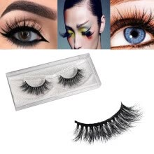 -1 Pair 3D Natural Thick False Fake Eyelashes Eye Lashes Makeup Extension on JD
