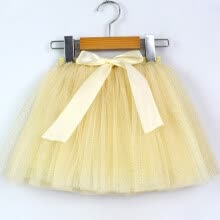 -Kids Girl Petticoat Paillette Star Tulle Pettiskirt Bowknot Tutu Skirt Dancewear on JD