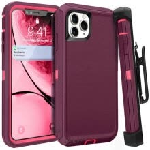 -Cases For IPhone 11 Pro With Back Clip Multi-layer Protection Shockproof And Shockproof Design Simple For IPhone 11 Pro Covers on JD