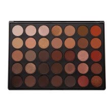 -Mnycxen Matte Shimmer Earth Warm Color Eyeshadow Palette Makeup Eye Shadow 35 Colors on JD