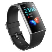 -Smart Exercise Bracelet Real-time Blood Pressure And Heart Rate Monitoring Raising Hand Brighten Screen Taking Photo Waterproof on JD