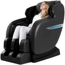 full-body-massagers-Ugears Massage Chair, Zero Gravity Full Body Massage Chair, Shiatsu Massage Recliner with Bluetooth Heating Function Foot Roller L on JD