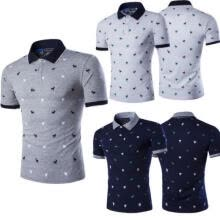 -New Fashion Mens Stylish Casual T-Shirts Slim Fit Short Sleeve POLO Shirt Tops on JD