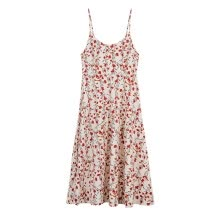 -O-neck Women Floral Dress 2020 Elegant Bohemian Flower Plus Size Summer Dresses Female Holiday Sexy Beach Vest on JD