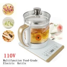 -Electric Kettle Glass Water Boiler Fast Boiling Tea Kettle 2L Stainless on JD