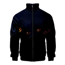 -Men's Halloween Print Zipper Sportswear Long Sleeve Coat Jacket Outwear on JD