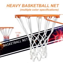 basketball-2pcs Basketball Net Polyester Indoor Outdoor Thickened 12 Loop Replacement Parts on JD