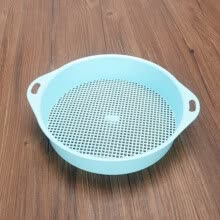 -Square Hole Soil Sieve Plastic Sieve 3mm Soil Sieve Home Gardening Filter Earth Stone Tool Soil Particle Sieve on JD